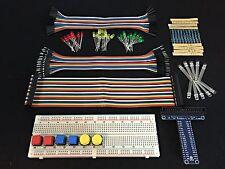 Raspberry Pi 3 Model B & B+ Python Electronic Project Starter Kit, RGB LED, GPIO