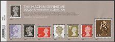 GB Machin Definitive Golden Anniversary Celebration Stamp Sheet MNH 2017