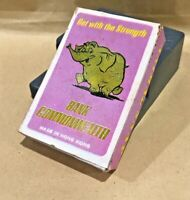 VINTAGE 1970S COMMONWEALTH BANK ELEPHANT SHOWBAG SNAP CARD GAME HONG KONG VGC!!!