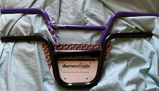 DIAMOND BACK BMX 'DIRT BAR' HANDLEBARS BLACK 635MM DBX020 +  Blank Hb Used / New
