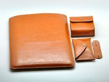 PU Leather Laptop Sleeve Case for MacBook Air/Pro 11/12/13/15 Accessories Set