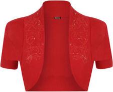 Altro maglie da donna rossa di cotone