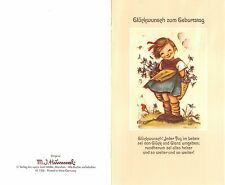 """Original Hummel Grußkarte mit Umschlag Ars sacra Verlag """"1221"""" unbeschrieben1980"""