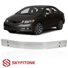 For 2013 2015 Honda Civic Sedan Front Bumper Support Reinforcement Alumnium Fits 2013 Honda Civic Si
