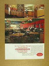 1967 Hoffman House Restaurant photo madison wi Consoweld Plastic vintage Ad