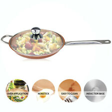Non Stick Ceramic Coating Frying Pan induction Compatible Oven & Dishwasher Safe