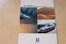81102) Peugeot 206 406 Partner HDi Prospekt 06/2000