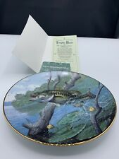 Mark Susinno Trophy Bass Collector Plate 1990 The Angler's Prize Numbered W/Coa