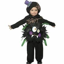 Baby or Toddler Halloween Fancy Dress Crazy Spider Costume by Smiffys New. T1 - 1-2 Years