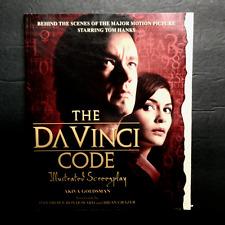 The Da Vinci Code : The Illustrated Screenplay by Akiva Goldsman  2006 Paperback