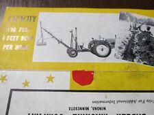 Badger Machine Company Hopto Digger Sales/Mailer Brochure