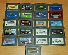 Gameboy Advance Games Fun Pick & Choose GBA Video Games (Updated 3-6-21)