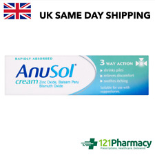 Anusol Cream - 23g   Shrinks Piles   Relieves discomfort   Itching  