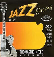 Thomastik Infeld JS110 Jazz Swing Electric Guitar Strings 10-44 flatwound