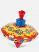Mini Tin Humming Tops - Sc-Mta Classic Traditional Toy Kids Play Fun Spinning