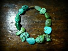 Antique Tibetan Turquoise Beads small Necklace