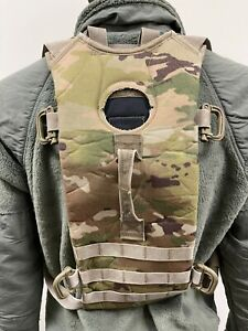 Military MOLLE II Hydration Carrier Backpack Used No Bladder Multicam 3L/100oz