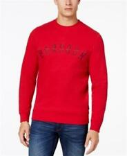Barbour Essential Logo Graphic Print Sweatshirt Mens Red XXL New