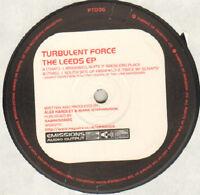 Turbulent Force – The Leeds EP - Emissions Audio Output – PT036 - UK 1997