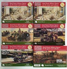 Plastic Soldier Company 1/72nd 20mm Infantería británica, vehículos & artillería. Segunda Guerra Mundial