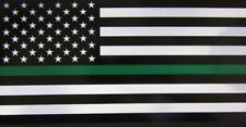 Wholesale Lot of 6 Usa Thin Green Line American Decal Bumper Sticker