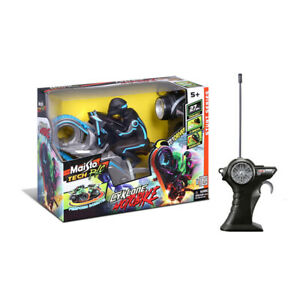 Maisto Tech Blue RC Rechargeable Cyklone Motorbike Kids Remote Control Toy 5y+