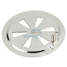 Marine Air Vent Stainless Steel Butterfly Boat Round Louvered Vent 125mm