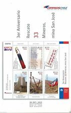 Chile 2013 Brochure 3er Aniv. Rescate 33 Mineros Mina San Jose Mining