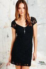 Pins & Needles Black Lace Bodycon Dress XS Extra Small