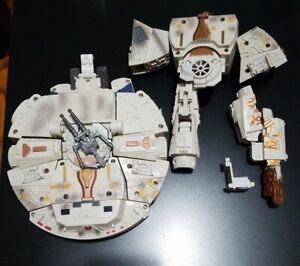Star Wars Transformers HAN SOLO / CHEWBACCA MILLENIUM FALCON