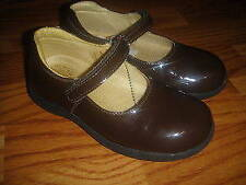 Primigi girls 29 US girls 11 brown mary jane shoes