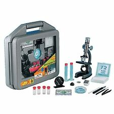 Elenco EDU-41011 Discovery Planet Microscope Set in Carrying Case- Ages 10+