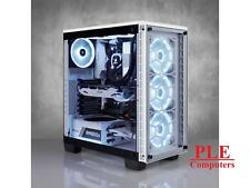 Corsair Crystal 460X White RGB Mid Tower Case w/Tempered Glass Side Panel[CC-..