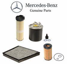 For Mercedes W211 E320 CDI Diesel Oil Fuel Air & Cabin Air Filters OES Kit