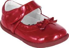 Le ragazze Grip e Go Mary Jane Pediped ISABELLA Rosso brevetto EU Taglia 20
