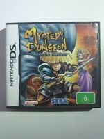 CASE AND BOOKLET ONLY - Mystery Dungeon Shiren the Wanderer Nintendo DS PAL