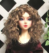 """Doll Wig, Monique Gold """"Ellowyne Rose"""" Size 4/5 in Ginger Brown"""
