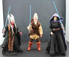 """Star Wars 12"""" Figure Lot • SHAAK TI • KI-ADI-MUNDI • BARRISS OFFEE"""
