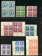 Canada-Lot of 61 blocks and multiples