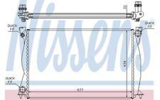 NISSENS Radiador, refrigeración del motor AUDI A6 60231A