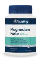 Faulding Remedies Magnesium Forte Maintain Bone Mineral 400mg 150 Capsules
