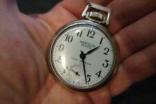 Vintage Westclox Scotty Pocket Watch very good condition w No. 40005