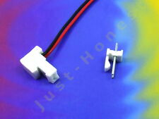 BUCHSENLEISTE+STECKER 2 polig / pins  HEADER 2.54mm + Male Connector PCB #A829