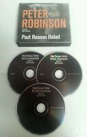 AUDIO BOOK CD - Peter Robinson Past Reason Hated Read By Neil Pearson 3 CD Set