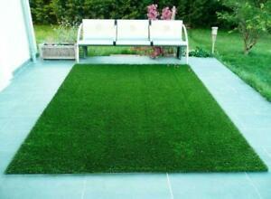 High Density Artificial Grass Carpet Rug Mat for Balcony Lawn 3 Ft x 6.5 Ft