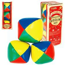 Professional Juggling Set - Kids Fun Trick Circus Beginners Learning Toy Game