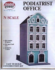 Model Power Structure #1529 Podiatrist Office Plastic Kit N Scale