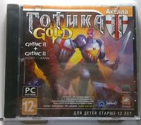 Gothic 2 GOLD(Gothic II) NEW and SEALED Jewel Case PC DVD ROM (PC, 2007)