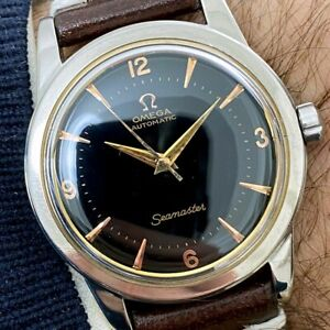 OMEGA Seamaster Automatic Ref. 2577 CAL.351 Stainless Steel WATCH 1950's