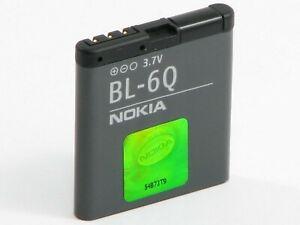 Genuine Nokia BL-6Q Battery for Nokia 6700 6700c 7900 970mAh UK